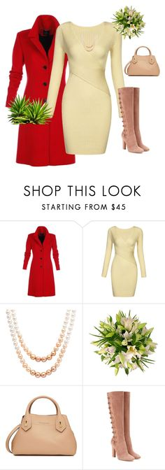 """""""set 92"""" by nudzi-ded ❤ liked on Polyvore featuring Honora, Burberry and Gianvito Rossi"""
