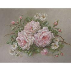 La Belle Roses Print