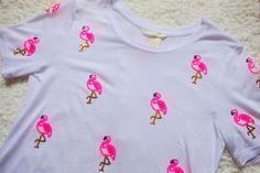 H&M Flamingo T ♡