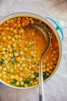 golden chana masala //  vegan gluten-free dinner, perfect for a cold winter night