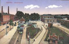 1910 Spandau-Das muesste der heutige Bahnhof Stresow sein.. - oh wie schön ist das!