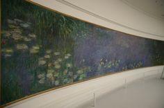 Monet Waterlillies!! Musee de l'Orangerie