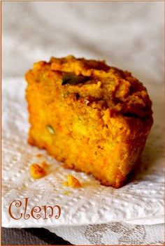muffins au potimarron (remplacer la ricotta par du tofu soyeux)