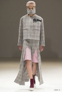 Two weeks ago, we highlighted the London-based designer Jamie Wei Huang, a young talent with an extensive background in art and fashion. A graduate of Central Saint Martins, her collections have received recognition and praise for their experimentation with simplistic, clean pieces. An exclusive interview gave us insight to the brilliant, creative thought process behind the line.  #JamieWeiHuang #AutumWinter14 #WomensWear #RTW #ReadyToWear #AW14 #Fashion #Design #Luxury #NewYork #Milan…