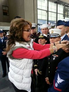 Sarah Palin always recognizing our nation's Heroes
