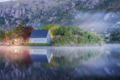 An early morning scene at Gouganebarra (St Finbarrs oratory) in County Cork, Ireland County Cork Ireland, Galway Ireland, Ireland Vacation, Ireland Travel, St Finbarrs, Very Beautiful Images, Ireland Landscape, Paris Travel, Culture Travel