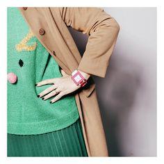 "Sandra Bacci wears Nanoblock watch: ""It's funny because it's true"". #creative #funny"