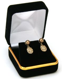 Store supplies to meet all your retail store needs. Sold individually Color: Black Velvet Use/Style: Earrings Size: x x Jewelry Store Displays, Jewelry Stores, Jewelry Box, Store Supply, Black Velvet, Boxes, Classic, Earrings, Leather