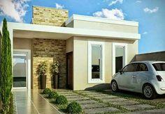 Veja mais de 100 modelos de casas modernas para todos os for Puertas ratoncito perez baratas