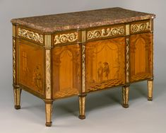 David Roentgen | Commode à vantaux | German, Neuwied | The Metropolitan Museum of Art