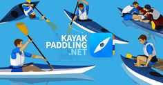 Kayaks are made narrow so that they move easily on the water. This means that you need to actively keep the balance. Fortunately the technique is is easy and usually comes naturally.