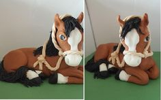 just fondant horse - http://cakesdecor.com/cakes/252333-just-fondant-horse