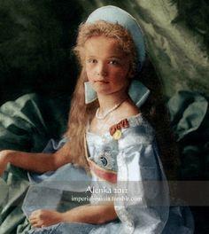 Grand Duchess Olga Nikolaevna of Russia (1895-1918) in 1904.