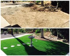 San Diego Before and After: Californians switching to artificial grass amid drought