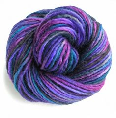 North Star Hand Dyed Yarn Bulky Wool by FiberFusion
