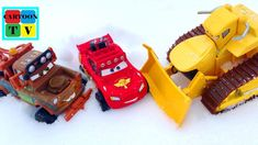 Cars 3 Lightning McQueen Mater Snow Offroad Monster Truck Cartoon for Kids Cars 3 Lightning Mcqueen, Cartoon Kids, Offroad, Monster Trucks, Snow, Toys, Activity Toys, Off Road, Eyes