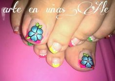 Pies Cute Pedicures, Pedicure Nails, Mani Pedi, Manicure, Pedicure Designs, Toe Nail Designs, Acrylic Nail Designs, Acrylic Nails, Toe Nail Art