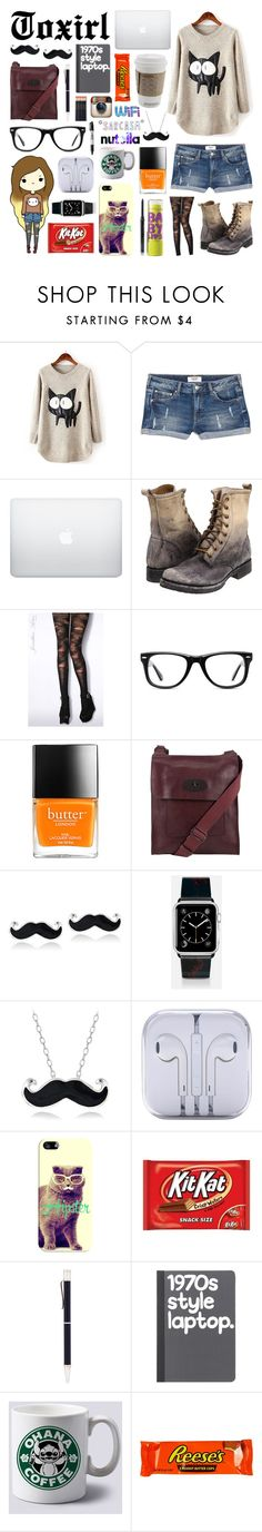"""""""The Hipster"""" by toxirl ❤ liked on Polyvore featuring MANGO, Frye, Jonathan Aston, Muse, Mary Kay, Maybelline, Mulberry, Mondevio, Casetify and Georg Jensen"""