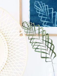 DIY Botanical Sun Printing Art - monsterscircus