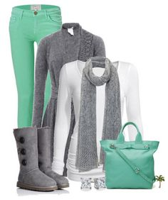 13 ways to wear mint jeans in the winter
