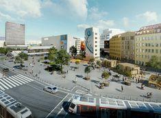 Už tento rok by mali Bratislavčania pocítiť, že okolie Kamenného námestia a Námestia SNP (projekt Živé námestie) sa bude meniť k lepšiemu. Prieskumy ukázali, že na tomto území je dôležité vytvoriť zjednotený verejný priestor. Práve preto nové vedenie magistrátu chce už tento rok vyhlásiť architektonickú súťaž.