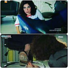 Seviyor Sevmiyor ve She Was Pretty'den ayakkabıya yapışmış puzzle sahnesi  @zeynepcamci @gokhan_alkan #seviyorsevmiyor #atvturkiye #shewaspretty #turkishversion