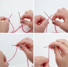 Teaching Kids to Sew: Using Fabric, Tying Knots, Tracing Designs | Make It and Love It