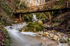 Vadregényes sziklafalak közé bújva. A Pilis hegység és egyik ékessége, a Dera-szurdok a Duna-Ipoly Nemzeti Park területén fekszik. A fokozottan védett területnek számító részt kizárólag a turistaútvonalakat használva járhatjuk be. 1 Day Trip, Great Plains, Budapest Hungary, Garden Bridge, Waterfall, Beautiful Places, Outdoor Structures, Nature, Travelling