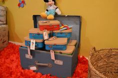 Mickey Mouse Aviator Party ~ Featured Party - Seshalyn's DIY Party IdeasSeshalyn's DIY Party Ideas