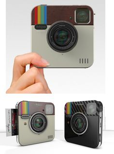 Instagram Socialmatic Camera by Polaroid. It's going to sell and it will be the new hot gadget but in the long run the orignal app and smart phone camera pairing will still rule. No word on exact release as of yet, but stay tuned for more information on the Polaroid Instagram Camera with the camera brand's iconic instant-print technology.