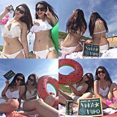 【mlife___】さんのInstagramをピンしています。 《. 御宿Part2✋ #御宿#海#海好き#夏#ビーチ#砂浜#海水浴場 #日焼け#水着#白ビキニ#コーデ#浮き輪#スイカ #summer#summertime#sea#beach#love #sandybeach#sunburn#swimsuit#bikini #whitebikini#bikinigirl#code#yolo#friend #bff#gn》