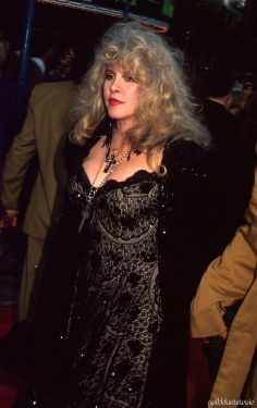 "Stevie attending the ""Robin Hood: Prince of Thieves"" premiere in 1991."