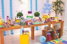 What a fantastic Toy Story birthday party! See more party ideas at CatchMyParty.com!