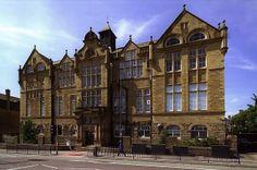 Belle Vue Grammar School, Manningham Lane, Bradford   Flickr - Photo Sharing!