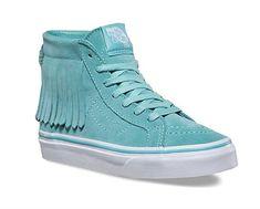 8378e079a9 Vans Sk8-Hi Moc Suede Skateboarding Shoes for Girls