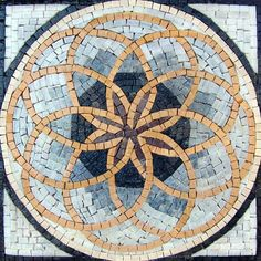 Accent Marble Mosaic Art Tile Home Decor Insert Mosaic Tile Art, Mosaic Crafts, Mosaic Projects, Marble Mosaic, Mosaic Glass, Mosaic Tile Table, Stained Glass, Art Projects, Mosaic Designs