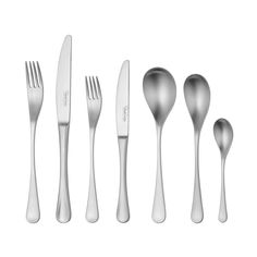 A 42 piece gift boxed cutlery set from the elegant, iconic RW2 range. Brushed finish and made from the finest 18/10 stainless steel. Free UK delivery on orders over £50.