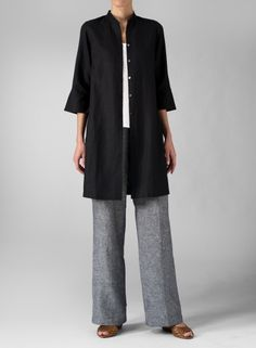 Light, lovely and simple, this long cut blouse is sure to delight your feminine side.