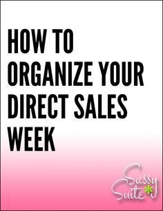 Are you as organized as you can be in your #directsales business? Checkout these quick tips! Come on over and join The Socialite Suite on Facebook - FREE tips!!! http://www.thesocialitesuite.com