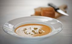 Harvest Butternut Squash Soup     Thanksgiving Point Executive Chef Jason Merryweather