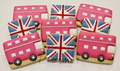 Dear Sweet: London Galletas Cookies, Fun Cookies, Decorated Cookies, Sugar Cookie Frosting, Sugar Cookies, Biscuit Cookies, Cookie Exchange, Royal Icing, Themed Cakes