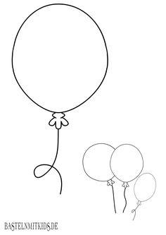 ausmalbild karneval, fasching, fastnacht: kostenlose malvorlage: luftballons kostenlos