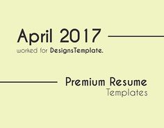 Resume CV template design for Designs Template Cv Template, Resume Templates, May 2017, Resume Cv, Working On Myself, New Work, Behance, Words, Gallery
