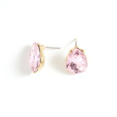 The Lucille earrings are pure vintage. This delicate teardrop pair features an exquisitely cut rose crystal, shimmering and prong-set in gold.   hop for this and over 450 other fabulous accessories for women, men, and girls at https://opulentcharmsboutique.kitsylane.com   Easy 2 step registration:   1) sign-up with your email, and 2) create and password, then you're all set to shop and save in style!