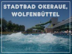 Summertime in Lower Saxony, Germany: STADTBAD Okeraue, Wolfenbüttel