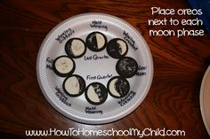 Oreo Phases of the Moon - Free Activity Guide
