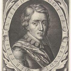 Portret van Christiaan, hertog van Brunswijk-Wolfenbüttel, Willem Hondius, 1623 - Rijksmuseum