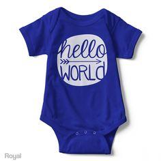 Hello World - Infant Onesie