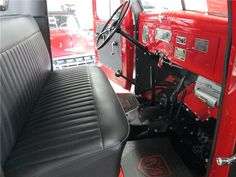 1952 DODGE POWER WAGON PICKUP - Interior - 161840 Ram Trucks, Dodge Trucks, Pickup Trucks, Vintage Sled, Dodge Ram Pickup, Dodge Power Wagon, Barrett Jackson Auction, Jeep 4x4, Collector Cars