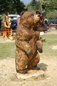 grizzly b r bear b r pinterest schnitzen holz und. Black Bedroom Furniture Sets. Home Design Ideas